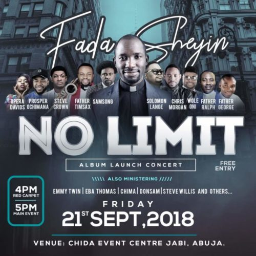 """Fada Sheyin Set To Launch New Album """"No Limit"""" With Concert! 