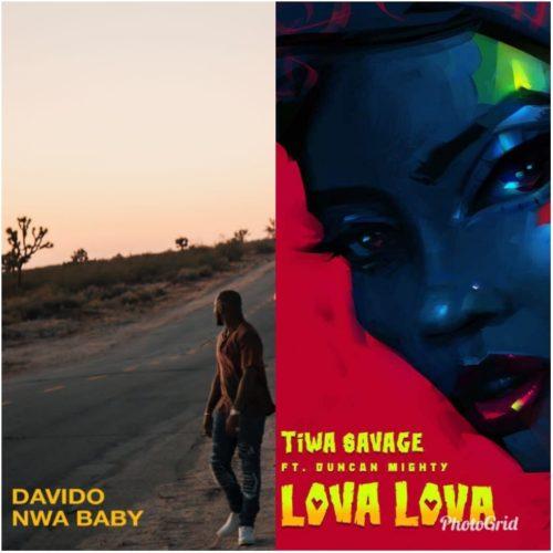 Davido - nwa baby & Tiwa Savage - lova lova