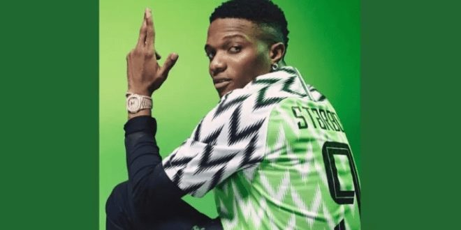 Watch Starboy Wizkid In Nike Football Commercial
