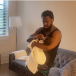 Daddy Duties; Timaya Spends Quality Time With His Baby Boy [Video]