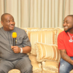 Davido Pays Courtesy Visit To Governor Wike Of Rivers State