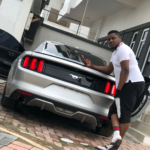 Rapper CDQ Buys Himself A Ford Mustang For Sallah