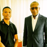 Wizkid Shares A Picture With President Of Benin Republic