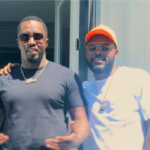 Rapper Falz Pictured With Music Mogul Diddy