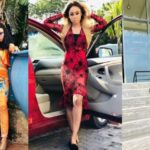 Ex-BBNaija Housemate, Nina Steps Outs In Style With Car