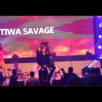 Tiwa Savage Grinds On Humblesmith At His Osinachi Concert