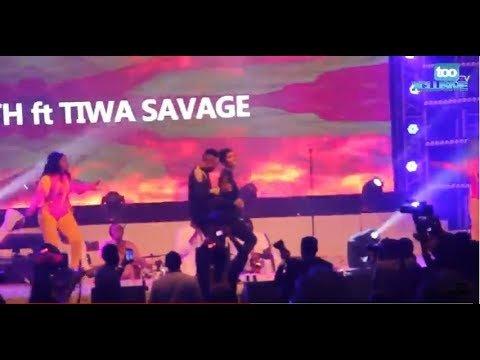 Tiwa Savage Humblesmith concert