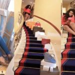 Nollywood Actress, Mimi Orjiekwe Flaunts Her Designer Items After Shopping In Dubai