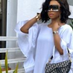 Toke Makinwa Takes A Shot At A Music Career