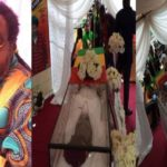 See Photos From Ras Kimono's Lying-In-State Service In Lagos