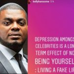 Celebrities Are Depressed Because They Are Living Fake Lives – Kelly Handsome