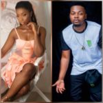 Olamide & Bambam Get Really 'Close' Together As They Hang Out At Club