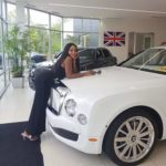 Checkout the Bentley Blogger Linda Ikeji bought for her son, Jayce Jeremi