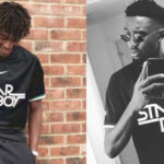 Super Eagles Players Alex Iwobi & Ndidi Model Starboy Football Jerseys