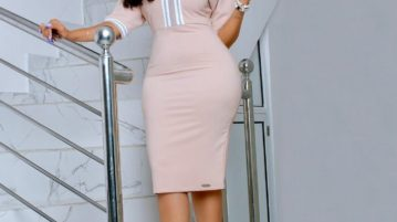 Hot Ghanaian actress Juliet Ibrahim advises ladies on cheating men