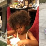 Super Eagles Captain, John Mikel Obi celebrates his twin daughters on their 3rd birthday