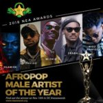 2018 Nigerian Entertainment Awards (NEA) Davido, Wizkid, Simi, Niniola Contest For Top Awards | View Complete List