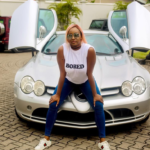 DJ Cuppy Flaunts Daddy's N250 Million Benz As He Reacts