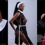 Beverly Osu Covers Latest Edition Of Taylor Live Magazine In Controversial And Racy Nun Outfits