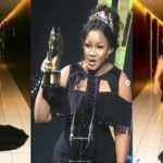 "Actress Omotola Jalade Uses A Fan's Post To Shade ""Almost Nude"" Women At The AMVCA 2018"
