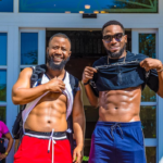 Cassper Nyovest & D'banj Put Sweaty Abs On Display