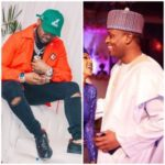 Davido Reacts As Buhari's Son in-law Campaigned For Him