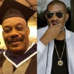 Don Jazzy's His At Return To University As Dad Graduates