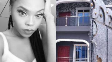 Chidinma buy mom a house
