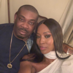 Don Jazzy Star Struck As He Meets Supermodel Naomi Campbell