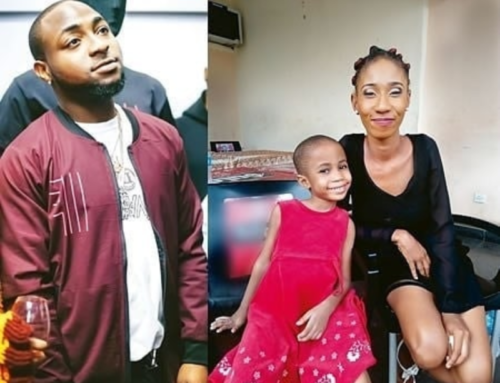 Davido and alleged first baby mama
