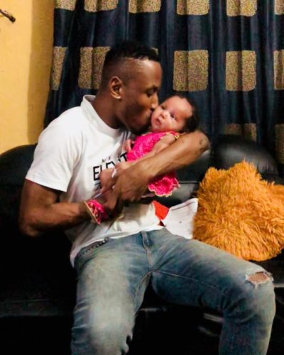 Mr 2Kay and daughter