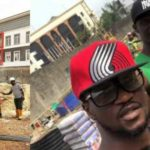 Rudeboy Shows Off New Building Site In Ikoyi