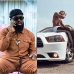 King Perryy Receives New Car Christmas Gift From Timaya