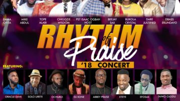 Rhythm Of Praise Concert 2018, Host by Pastor Isaac Ogbah