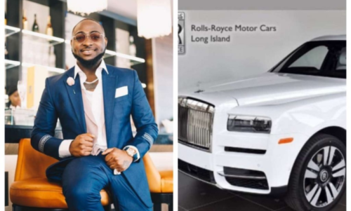Davido Ready To Add 2019 Rolls Royce SUV To His Car Fleet