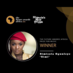 Simi Wins Prize For Music At The Future Awards Africa 2018