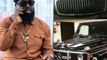 Timaya buys a maybach and g wagon