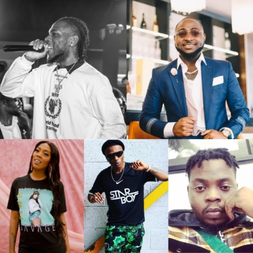 Top 10 biggest Nigerian Musicians in 2018