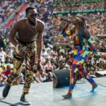 Nigerian Stars D'banj, Tiwa Savage Thrill At Global Citizen Festival