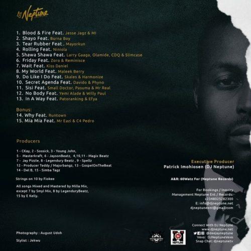 Download Music: DJ Neptune – Blood & Fire ft. MI Abaga, Jesse Jagz 1