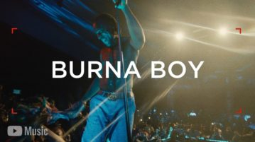 Watch Burna Boy - YouTube Music Artist Spotlight Stories