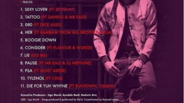 Del B - Consider feat. Flavour & Wizkid