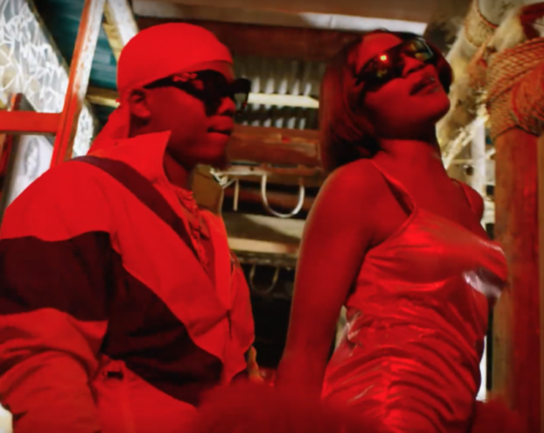 Seyi Shay ft. Harmonize - Koma Roll music video
