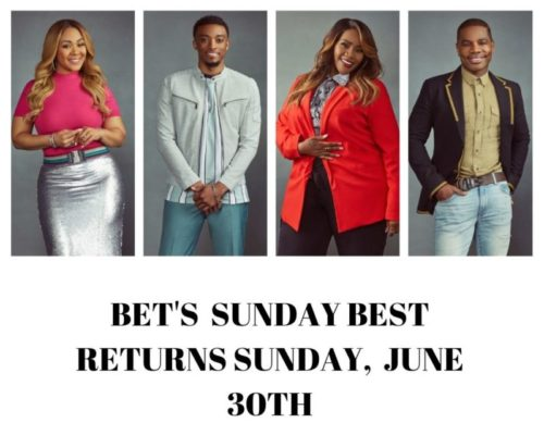 """BET Networks Reveals the Top 20 """"SUNDAY BEST"""" Contestants"""