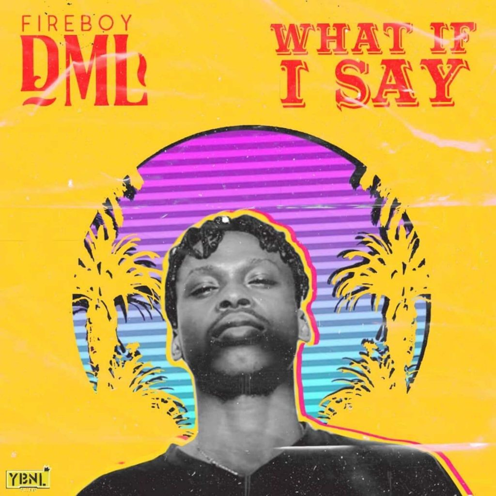 Fireboy DML - What If I Say [NEW SONG]