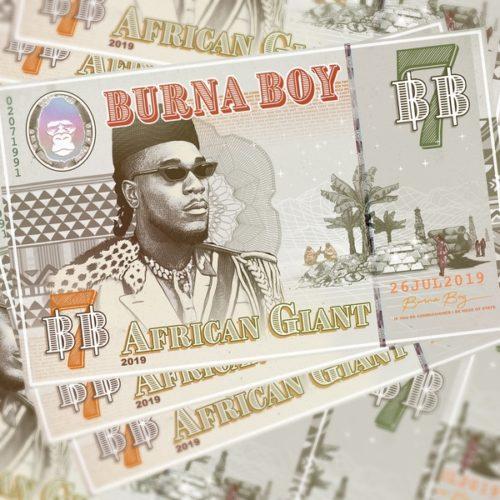 Burna Boy - 'Different' feat. Damian Marley & Angelique Kidjo DOWNLOAD MP3