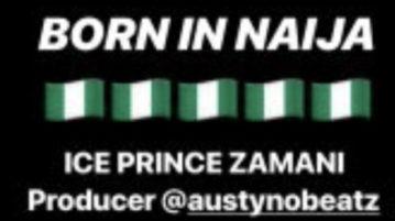 DOWNLOAD Ice Prince - 'Born In Naija' MP3