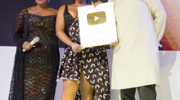 Singer, Yemi Alade Receives The Honorary 'Golden Play Button' From YouTube