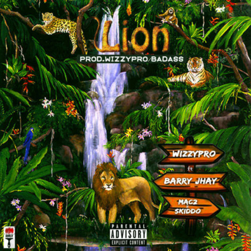 DOWNLOAD WizzyPro feat. Barry Jhay, Mac 2 & Skido - 'Lion' MP3