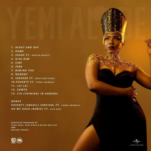 Yemi Alade - 'Woman Of Steel' (Album)